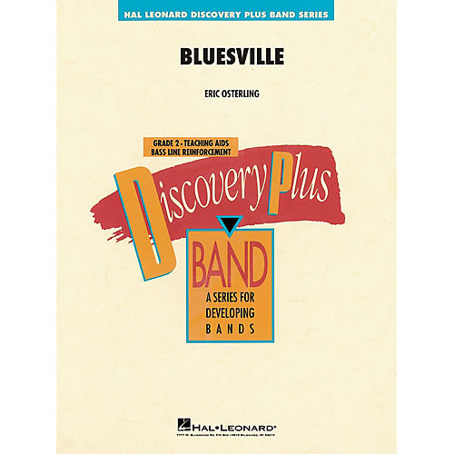 Hal Leonard Bluesville Concert Band Level 1 Composed by Eric Osterling-thumbnail