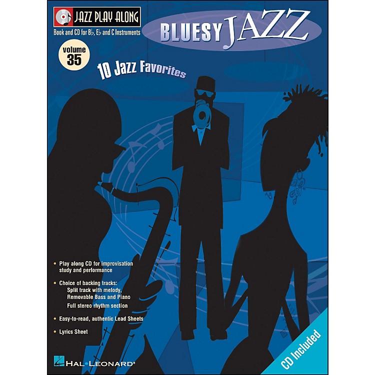 Hal LeonardBluesy Jazz Volume 35 Book/CD Jazz Play Along