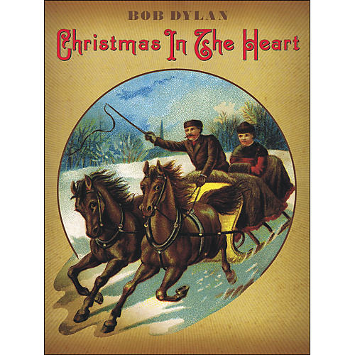 Music Sales Bob Dylan - Christmas In The Heart arranged for piano, vocal, and guitar (P/V/G)-thumbnail