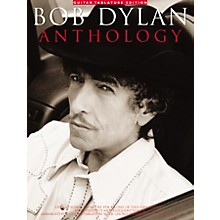 Music Sales Bob Dylan Anthology Guitar Tab Songbook