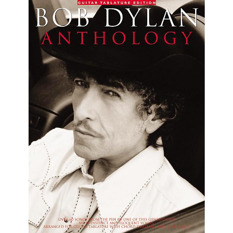 Music SalesBob Dylan Anthology Guitar Tab Songbook