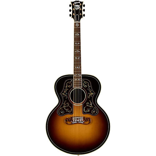 Gibson Bob Dylan Autographed SJ-200 Collector's Edition Acoustic Guitar-thumbnail