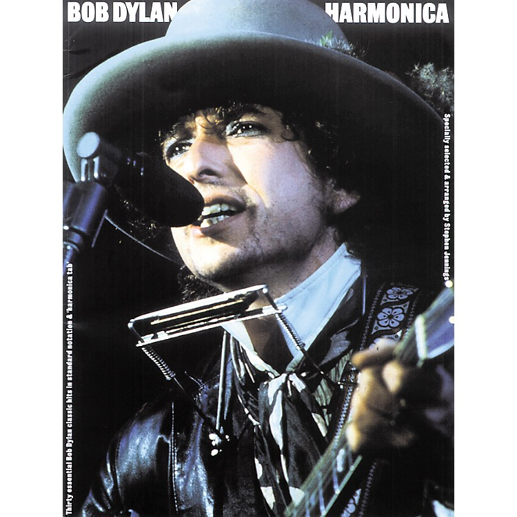 Music Sales Bob Dylan Harmonica (Book)