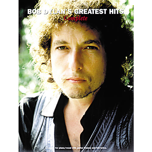 Music Sales Bob Dylan's Greatest Hits: Complete