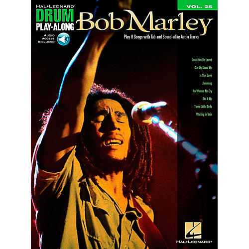 Hal Leonard Bob Marley - Drum Play-Along Volume 25 Book/CD