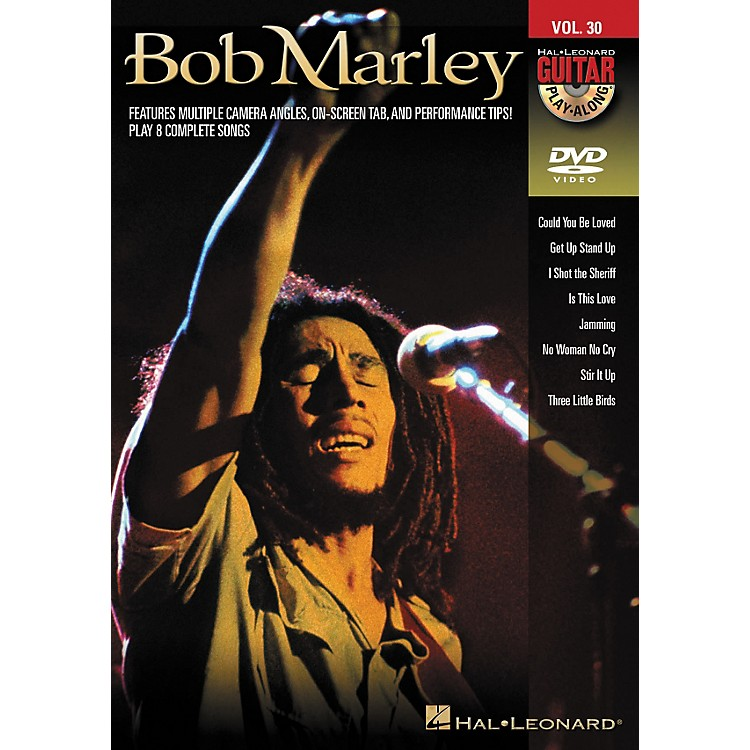 Hal LeonardBob Marley - Guitar Play-Along DVD Volume 30