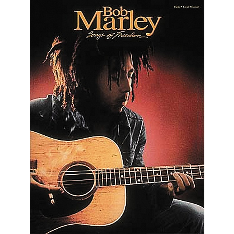 Hal Leonard Bob Marley - Songs of Freedom Piano, Vocal, Guitar Songbook