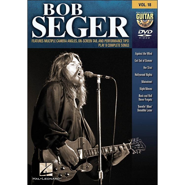 Hal LeonardBob Seger - Guitar Play-Along DVD Volume 18