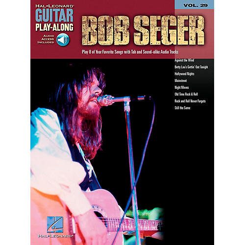 Hal Leonard Bob Seger Guitar Play-Along Series Book with CD