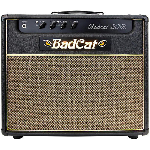 Bad Cat Bobcat 20 1x12 20W Tube Guitar Combo Amp With Reverb-thumbnail