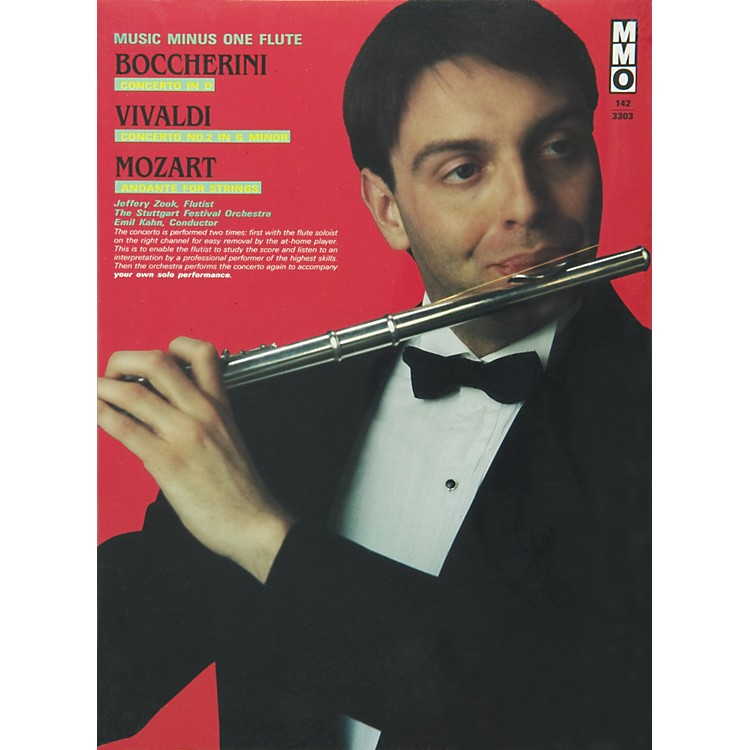 Hal LeonardBoccherini, Vivaldi and Mozart for Flute