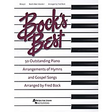 Fred Bock Music Bock's Best - Volume 1 for Piano Solo