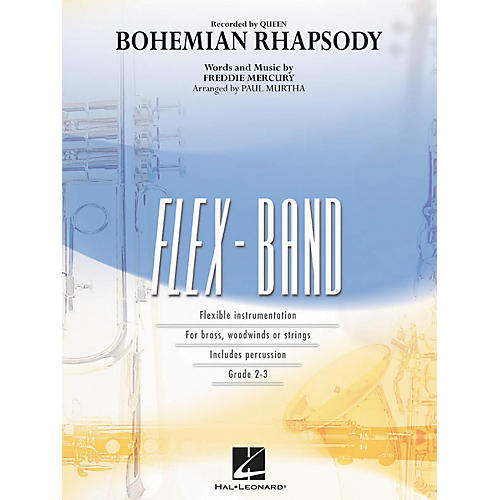 Hal Leonard Bohemian Rhapsody - Flex-Band Series (Book)-thumbnail