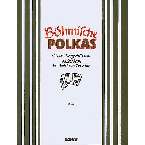 Schott Bohmische Polkas Accordion Schott Series