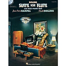 Hal Leonard Bolling Suite for Flute & Jazz Piano Trio Book Companion CD