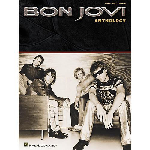 Hal Leonard Bon Jovi - Anthology Piano, Vocal, Guitar Songbook
