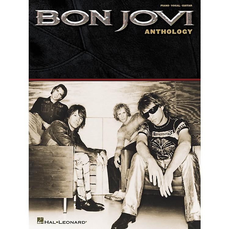 Hal LeonardBon Jovi - Anthology Piano, Vocal, Guitar Songbook