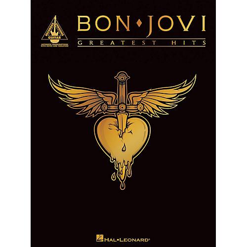 Hal Leonard Bon Jovi - Greatest Hits Guitar Tab Songbook