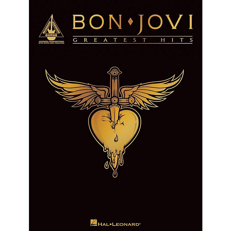 Hal LeonardBon Jovi - Greatest Hits Guitar Tab Songbook