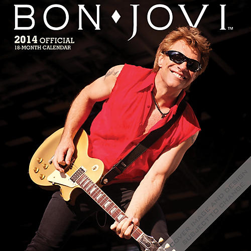 Browntrout Publishing Bon Jovi 2014 Calendar Square 12x12