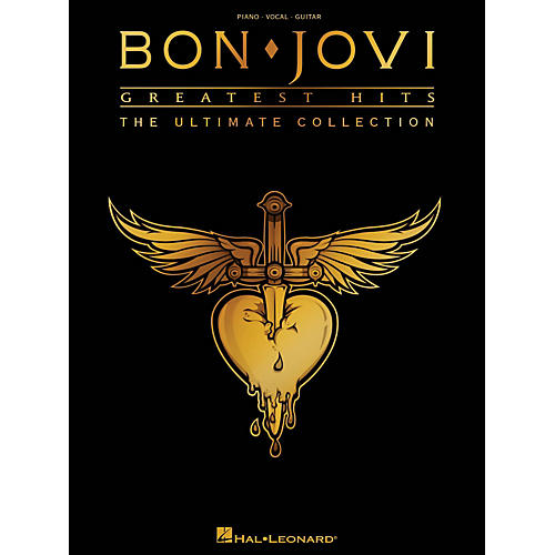 Hal Leonard Bon Jovi Greatest Hits - The Ultimate Collection PVG Songbook-thumbnail