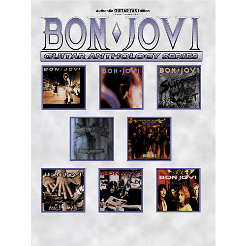 Alfred Bon Jovi Guitar Anthology
