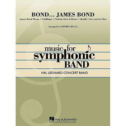 Hal Leonard Bond...James Bond Hal Leonard Concert Band Level 4-thumbnail
