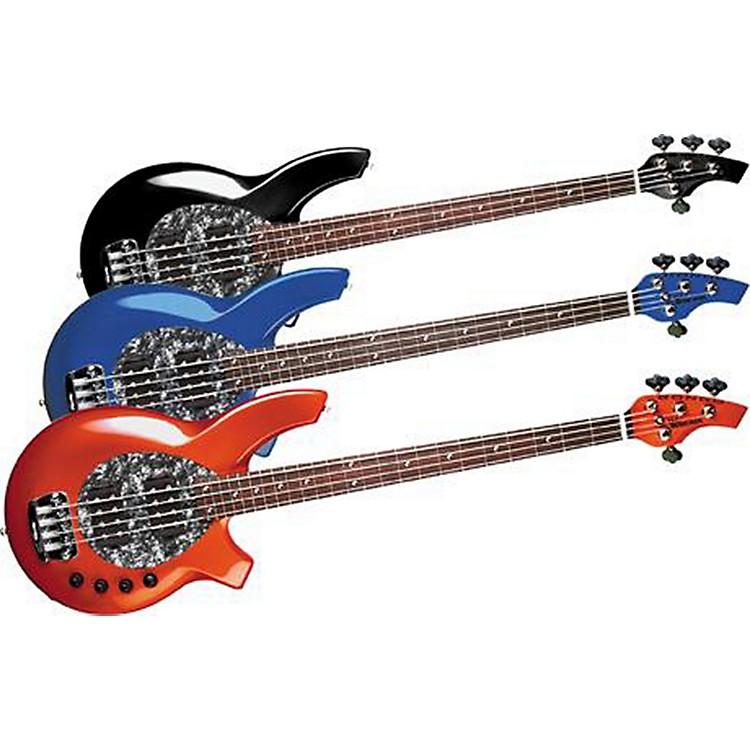 Music ManBongo 4-String Bass with 2 Humbucker PickupsBlue PearlBlack Pick Guard