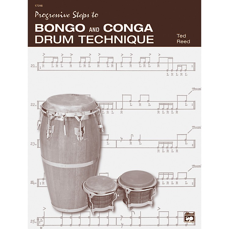 Alfred Bongo and Conga Drum Technique Book