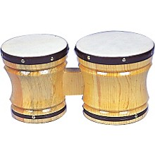Rhythm Band Bongos Deluxe 6 1/2 in.H X7 in. and 8 in. Dia.