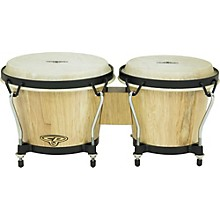 Rhythm Band Bongos Tunable 7 in. H x 6-1/2 in. and 7-1/2 in. Dia.