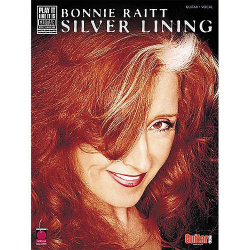 Cherry Lane Bonnie Raitt - Silver Lining Book