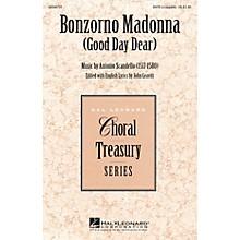 Hal Leonard Bonzorno Madonna (Good Day Dear) SATB a cappella composed by Antonio Scandello