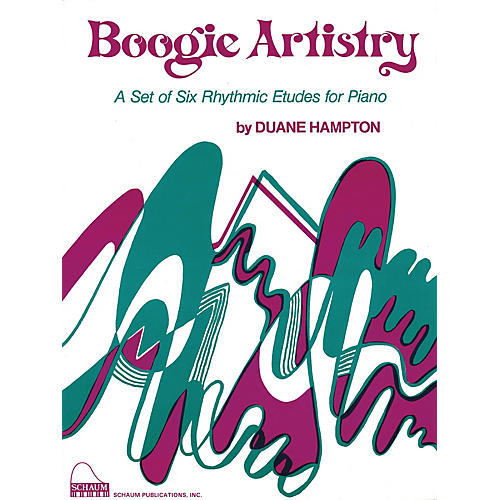 SCHAUM Boogie Artistry Educational Piano Series Softcover-thumbnail