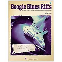 Hal Leonard Boogie Blues Riffs Guitar Tab (Book/Online Audio)