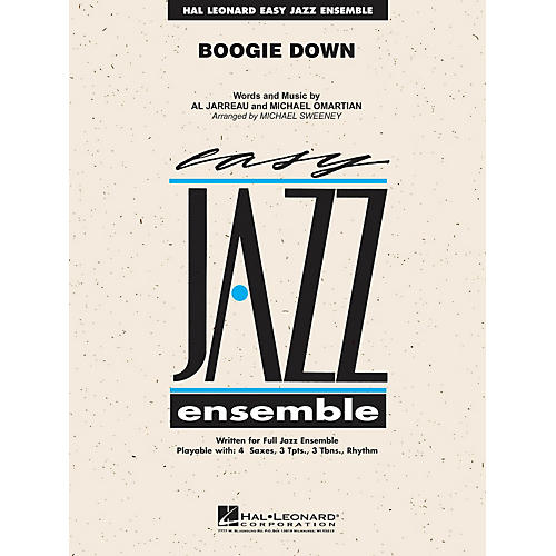 Hal Leonard Boogie Down Jazz Band Level 2 Arranged by Michael Sweeney-thumbnail