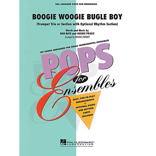 Hal Leonard Boogie Woogie Bugle Boy Concert Band Level 2.5 Arranged by Michael Sweeney-thumbnail