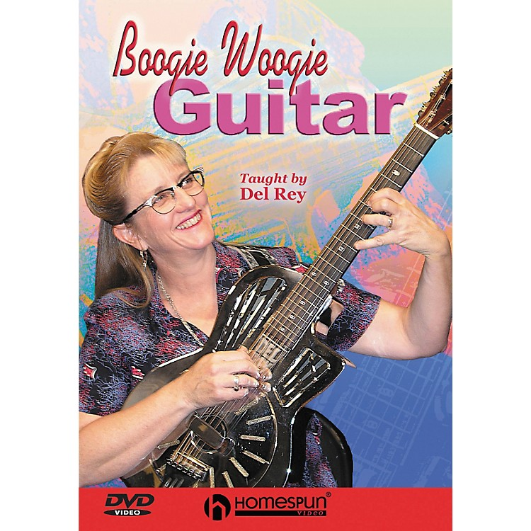 Homespun Boogie Woogie Guitar (DVD)