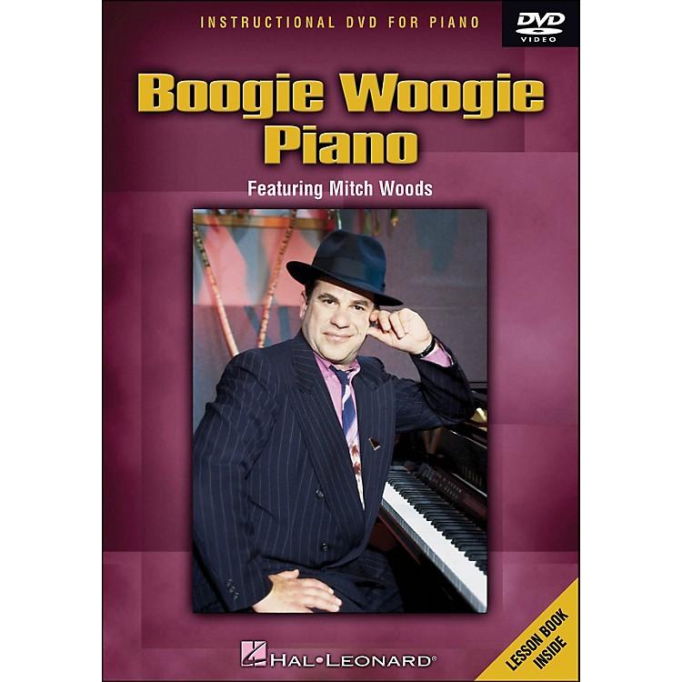Hal LeonardBoogie Woogie Piano - DVD Featuring Mitch Woods