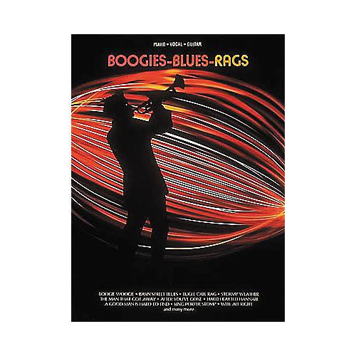 Hal Leonard Boogies - Blues - Rags Piano, Vocal, Guitar Songbook-thumbnail