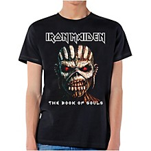 Iron Maiden Book of Souls T-Shirt Large Black