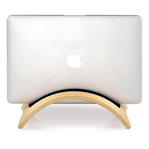 Twelve South BookArc möd for MacBook - Vertical - Hardwood - Birch