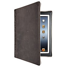 Twelve South BookBook Carrying Case (Book Fold) for iPad - Vintage Brown - Impact Resistance - Leather