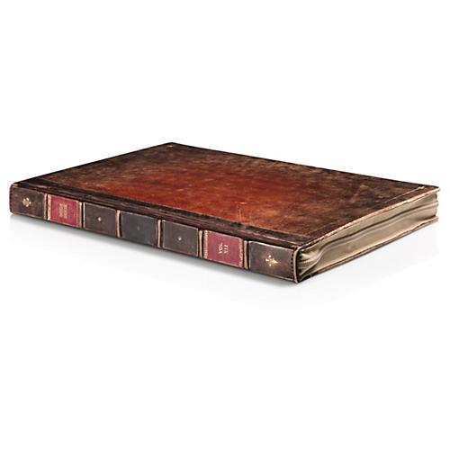 Twelve South BookBook Rutledge Hardback Brown Leather Case MacBook 13