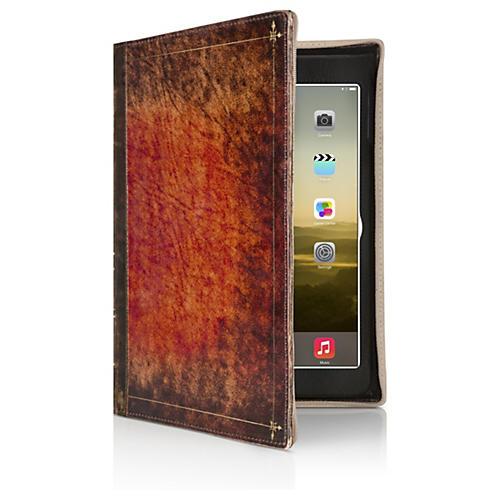 Twelve South BookBook Rutledge Hardback Brown Leather Case/Stand iPad Air-thumbnail