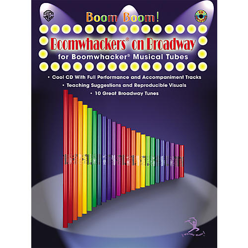 Alfred Boom Boom! Boomwhackers on Broadway Book-thumbnail