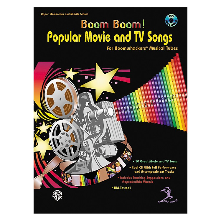 Alfred Boom Boom! Popular Movie and TV Songs for Boomwhackers Book with CD