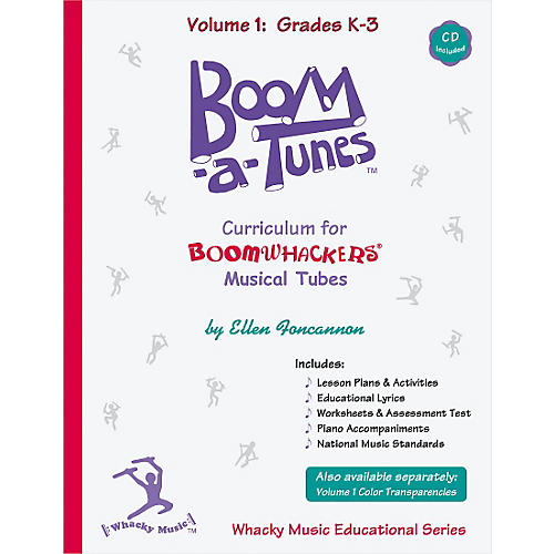 Boomwhackers Boom-a-Tunes Curriculum, Volume 1 (Book/CD)-thumbnail