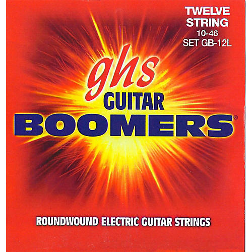 GHS Boomer 12 String Light Electric Guitar Set (10-46)-thumbnail