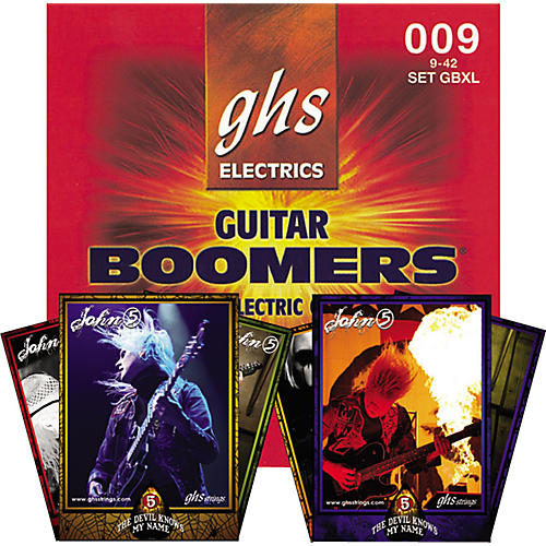 GHS Boomers GBXL John 5 Commemorative Set